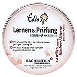 Edis Lernen und Prüfung Bachblüten Pastillen Himbeere/Limette, 50g, in Metalldose.