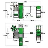 FATMOOSE BananaBeach Big XXL Spielturm mit Surfanbau Schaukel und Rutsche - 6