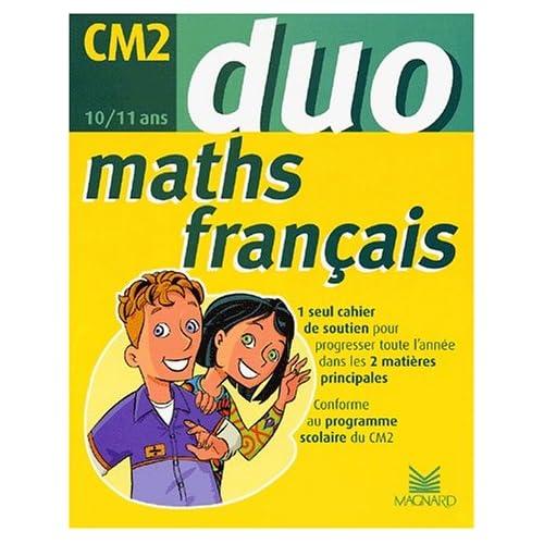 Duo CM2 français maths (2002)
