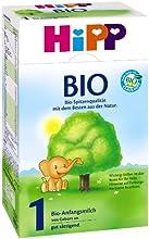 Infantil Hipp Orgánico Fórmula 1 desde el nacimiento, 2er paquete (2 x 600 g)