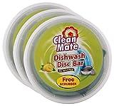 #7: Big Bazaar Combo - Clean Mate Dishwash Disc Bar Lemon Fresh, 500g (Pack of 3) Promo Pack
