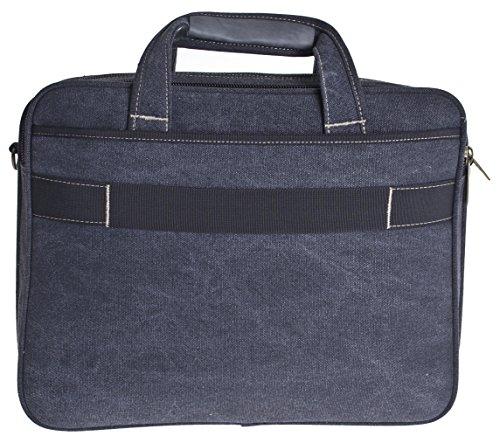 Custodia Laptop fino a 15,4pollici, Borsa per portatile, Borsa da Lavoro, Borsa a tracolla, a spalla, Uomo * speciale * multicolore nero Hochformat nero