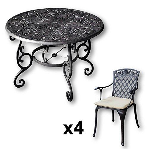 Salon jardin table ronds