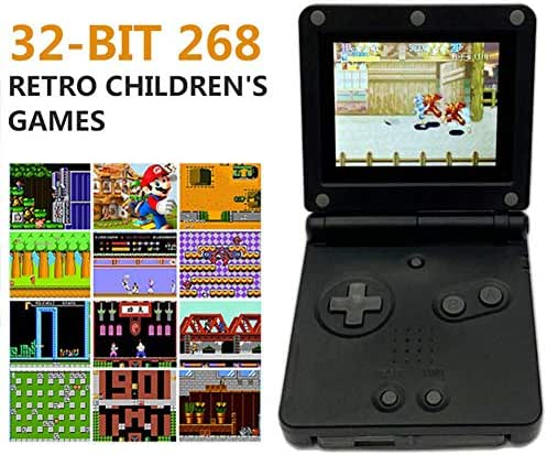 ZHAOHE Handheld Game Consoles Player 3 Colors Portable USB Rechargable 8GB 5.1-Inch Screen Game Machine with Videos Music and 10000 Games