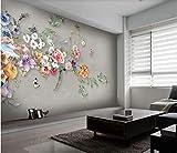 Fiori freschi Foto Wallpaper 3D Immagini HD di alta qualità Camera da letto Soggiorno dietro Personalizza QUALSIASI Dimensione, 400x280 cm (157.5X110.2 in)