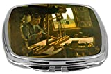 Rikki Knight Compact Mirror, Van Gogh Art Open Window