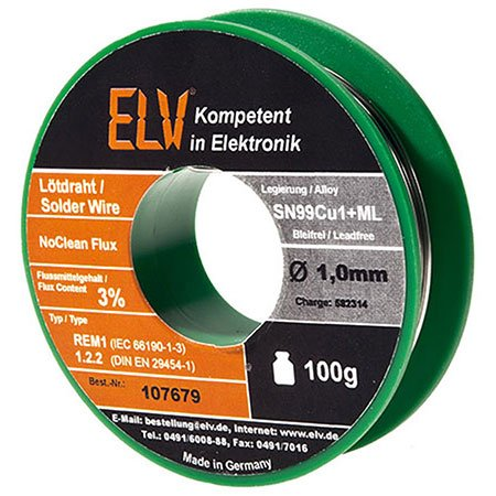 elv-no-clean-stagno-senza-piombo-sn99cu1-ml-10-mm-100-g