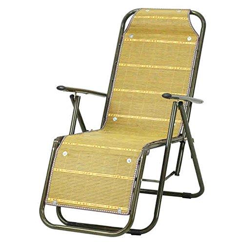 QIDI Chaise Longue Chambre Simple Bambou 87 * 60 * 55cm