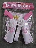 Cowgirl Set, 5-tlg. Set in pink und weiß