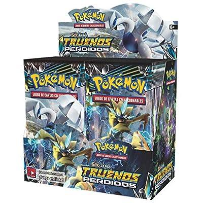 Pokemon JCC - Caja de 36 sobres Sol y Luna: Truenos Perdidos de The Pokémon Company