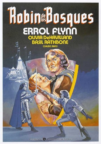 The Adventures of Robin Hood Plakat Movie Poster (27 x 40 Inches - 69cm x 102cm) (1938) Spanish D