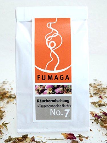 Fumaga - Wertvolle Räuchermischung No.7 »Tausendundeine Nacht«