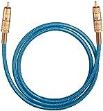 Oehlbach NF 113 DI  Digitales Audio-Cinchkabel  blau  0.50 m