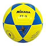 Mikasa FT5, balón Footvolley Unisex Adulto, Unisex Adulto, Ft5, Giallo/Azzurro