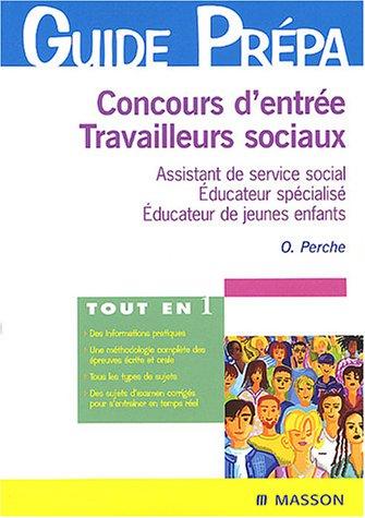 Concours d'entrée Travailleurs sociaux Assistant de service social
