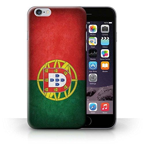 Coque en plastique pour iPhone 6+/Plus 5.5 Collection Drapeau - Suisse Portugal/portugais
