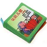 Baby Soft Cloth Book Intelligence Development Cloth Book Toys (Nursery Rhymes)