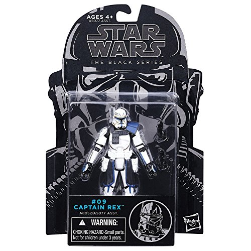 Star Wars Actionfigur The Black Series, Clone Wars Captain Rex Nr. 09, 9,5 cm (Wars Clone Rex)