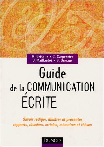 Guide de la communication écrite