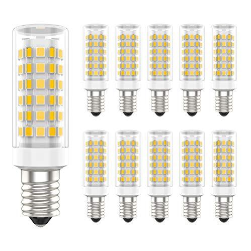 10er Pack E14 LED Lampe,9W Ersatz für 70W Halogenlampen,Warmweiß 3000K,700lm,LED Birnen,LED Leuchtmittel AC 220V - 240V 700 Lumen Led