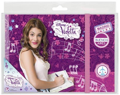 Violetta–Diario–Disney–Idea Regalo