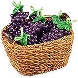 M.W. Reutter - basket with grapes Measurements article in cm (L/W/H): 5 x 4 x 4