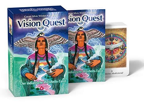 Vision Quest. Buch mit 78 Karten: Der indianische Weisheits-Tarot (Atlantis Quest For)