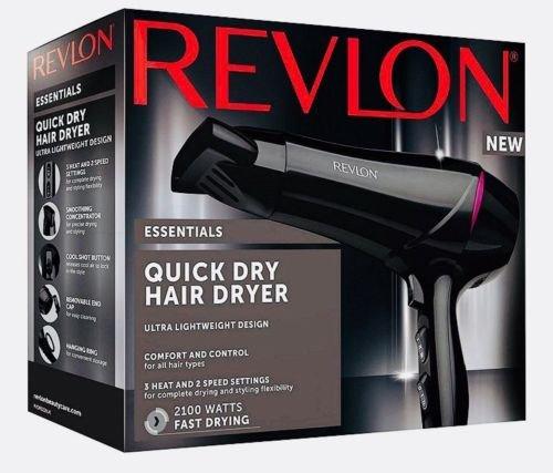 Revlon rvdr5228uk Essentials secado rápido secador de pelo 2100W