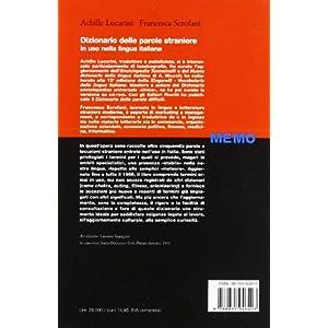 Dizionario delle parole straniere in uso nella lin