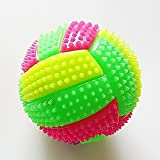 szdc88 LED Volleyball Blinklicht Up Farbwechsel Springende Massage Igel Ball Kids Pet Toy