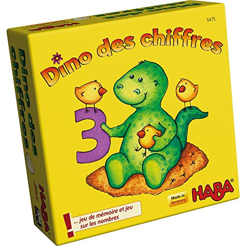 HABA Dino Des chiffres 005475 - Juego Infantil