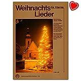 Leurre de Noël pour piano - tous les célèbres chansons de Noël allemandes ainsi que de nombreux snapperons de Noël du monde entier - Carnet de notes avec pince à partitions - EMB84 9795016384206