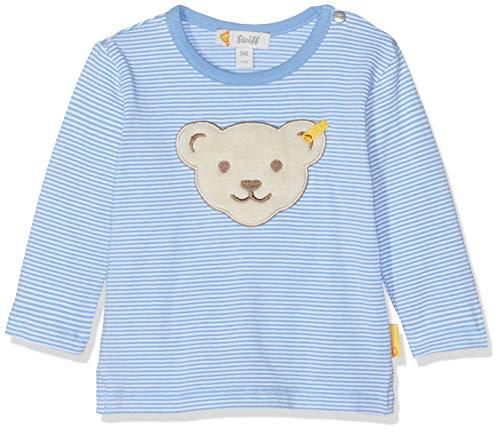 Steiff Baby-Jungen T-Shirt Langarmshirt, Blau (Marina 6026), 86 -