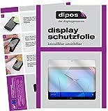 dipos I 2X Schutzfolie klar passend für Huawei Honor Play Pad 2 8 Zoll Folie Displayschutzfolie