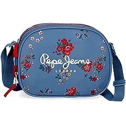 Pepe Jeans Pam - Bolso Bandolera, 23 cm, Multicolor