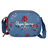 Pepe Jeans Pam Borsa Messenger 23 centimeters 3.13 Multicolore (Multicolor)