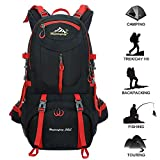 Best Hiking Backpacks - 50L Hiking Backpack Waterproof Backpacking Outdoor Sport Daypack Review