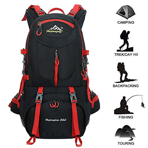517FW3tyPrL. SS500  - Butterfly Studio NO.1 50L Hiking Backpack Waterproof Backpacking Outdoor Sport Daypack for Climbing Mountaineering…