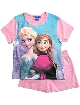 Frozen Pyjama Kollektion 2018 Ökotex Standard 100 Die Eiskönigin 98 104 110 116 122 128 Schlafanzug Shortie Kurz...