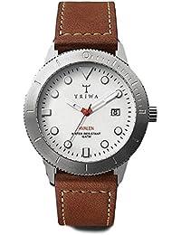 Triwa Ivory Hvalen with Brown Sewn Classic Strap Unisex Men s Watch HVST103  SC010215 06af353376