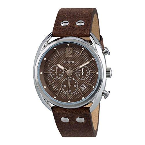 Breil Reloj Cronógrafo para Hombre de Cuarzo con Correa en Cuero TW1663