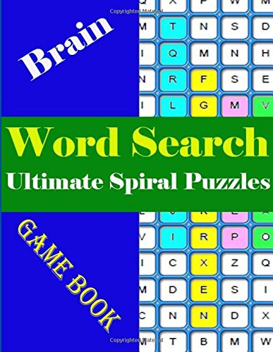 Word search Ultimate Spiral Puzzles: World Largest  brain-boosting game book for Adults por Charlesta Tiwimsun