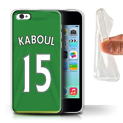 Offiziell Sunderland AFC Hülle / Gel TPU Case für Apple iPhone 5C / Pack 24pcs Muster / SAFC Trikot Away 15/16 Kollektion Kaboul