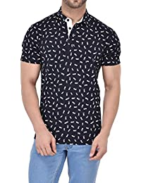 Vivid Bharti Men's Cotton Polo T-Shirt