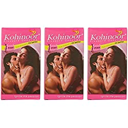 Kohinoor Condom Pink 10s (Pack of 3)