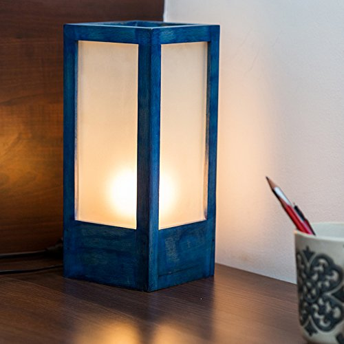 ExclusiveLane 50 -Watt Table Lamp (Berry Blue)
