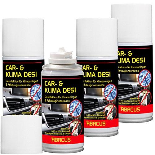 car-clima-desi-4-x-150-ml-clima-detergente-per-climatizzatore-clima-disinfezione-disinfettante-per-c