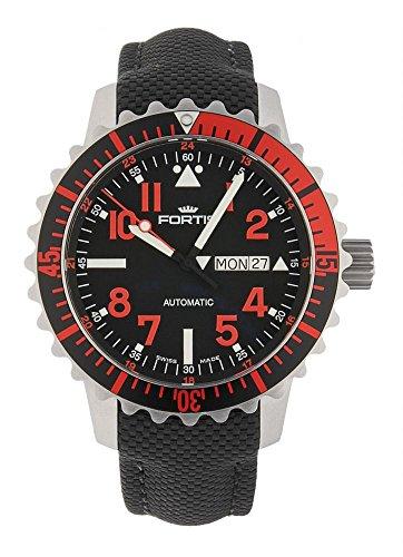 Fortis aquatis Marine Master Day/Date automatico rosso 670.23.43LP