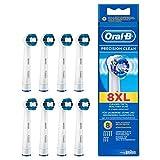 Oral-B cabezas del cepillo Precision Clean 8 por paquete 8 por paquete