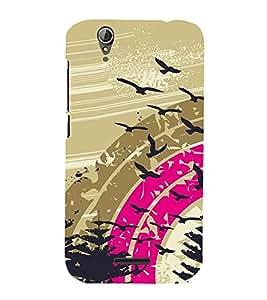 Vizagbeats Flying birds Back Case Cover for ACER Z630